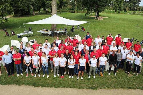 """Organisation du concours de golf de la société d'intérim AL&CO """"Drive AL&CO"""""""